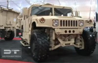 New Oshkosh Humvee Suspension
