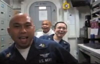 Sailors Make Hysterical Music Video