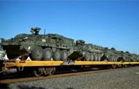 Massive Military Equipment Transport