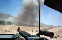 Quick Firefight Clip From Afghanistan