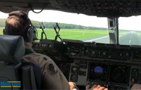 Military.com C-17 Landing Ride-Along