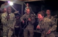 AF Band Covers 'Don't Stop Believing'