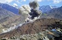 2 500lb JDAMs vs. Taliban