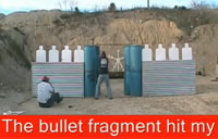 Gun Range Officer Gets Bullet to Face