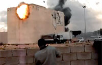 Rebels Destroy Libyan Army Snipers