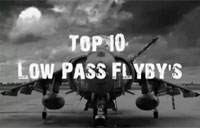Top 10 Low Pass Jet Flybys