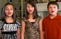 Kids Sing Star Spangled Banner, WOW!