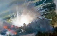 Vietnam War Bomb Run in Slow Motion