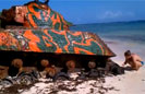 Abandoned US Army Tank in Culebra