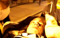 USMC Vet Shot in Face - Occupy Oakland