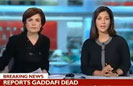 BBC News Fail on Gaddafi Coverage