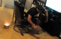 Girl Pranks 'Battlefield 3' Addicted BF