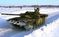 Leaked Footage of Russia's T-90 Tank