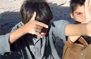 Afghan Children Play 'Fight the Taliban'
