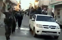 Syrian Soldiers Join Armed Resistance