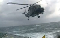 Test Pilots Land in Extreme Conditions