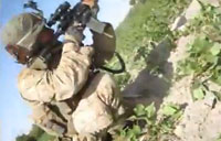 Taliban Ambush Marines from Treeline