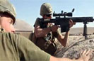 Marine Recon Engages Enemy Forces