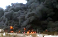 'Terrorists' Attack Syrian Oil Pipeline
