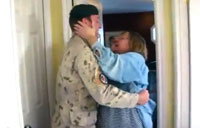 Soldier Surprises Mom on Christmas