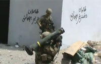Army Firefight in Afghanistan Valley