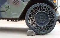 Humvee Airless Tire Test