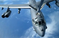 Beautiful B-52 in Flight Refueling
