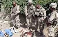 Urinating Marines Cause Outrage