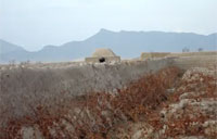 Taliban Hut Destroyed