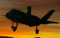 F-35 Performs First Night Flight