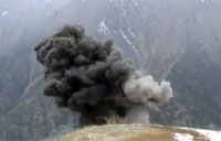 Army C4 Detonation in Afghanistan