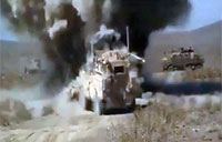 Super Close IED Detonation