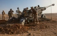 M777 Howitzer Rains Down on Taliban