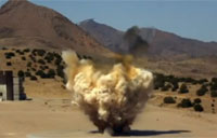 One Ton Siesmic Explosion