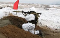 Russians Fire an RPG-7