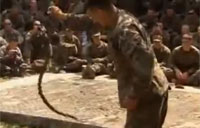 US Marines Eat Cobra, Drink Blood