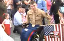 Wounded Marine Gets Grand Welcome