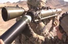 Soldiers Fire Gustav Recoilless Rifle