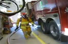 Humor: Firefighter Drill Fail