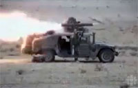 2 Mile TOW Shot Destroys Iraqi Army APC