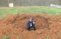 Making a Foxhole the Easy Way