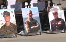 Marines Honor Pendleton Flight Crew
