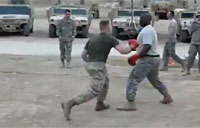Soldier TKOs Marine in Boxing Match