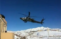 Insane Apache Crash in Afghanistan