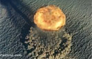 Cool Aerial View of Atomic Bomb