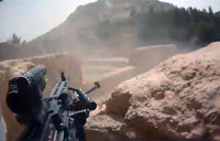 Heavy Bravo Co. Firefight with Taliban