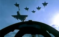Thrilling Ride Along in a Jet Fighter