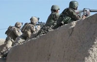 Marines Engage Taliban Insurgents