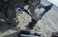 British Army Mortar Team Return Fire