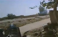 Taliban Attack During Road Crossing